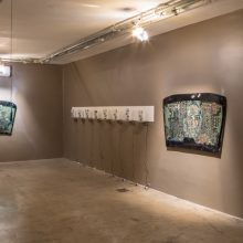 """Arya Tabandehpoor, from """"Humans"""" series, installation view"""