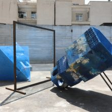"""Sanahin Babajanians, """"Parallelism or Intersection?"""", installation view, 2019"""