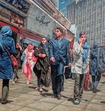 Valiasr-Square—Oil-on-Canvas-–-130×200-cm—2015