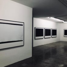 "Mehrdad Afsari, ""Photographs Afront"" series, installation view, 2019"