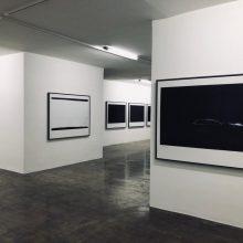 "Mehrdad Afsari, ""Photographs Afront"" series, installation view, 2019"
