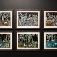"""Zahra Nouri Zonouz, """"Episode 05"""" a group exhibition, installation view, 2020"""