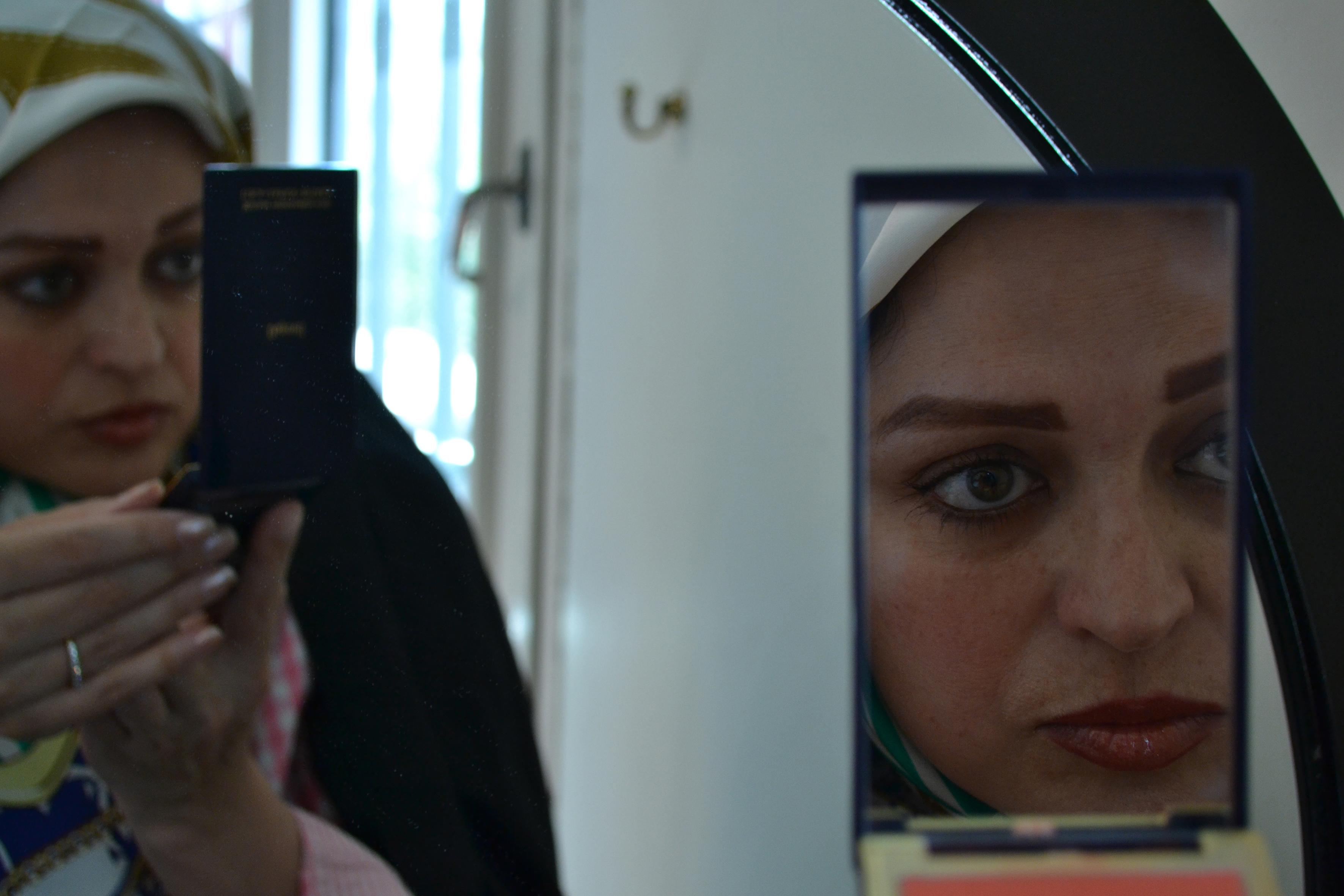 "Zahra Eshraghi, ""vis-à-vis"" Series, 2013, Digital Photography, 24×36 cm"