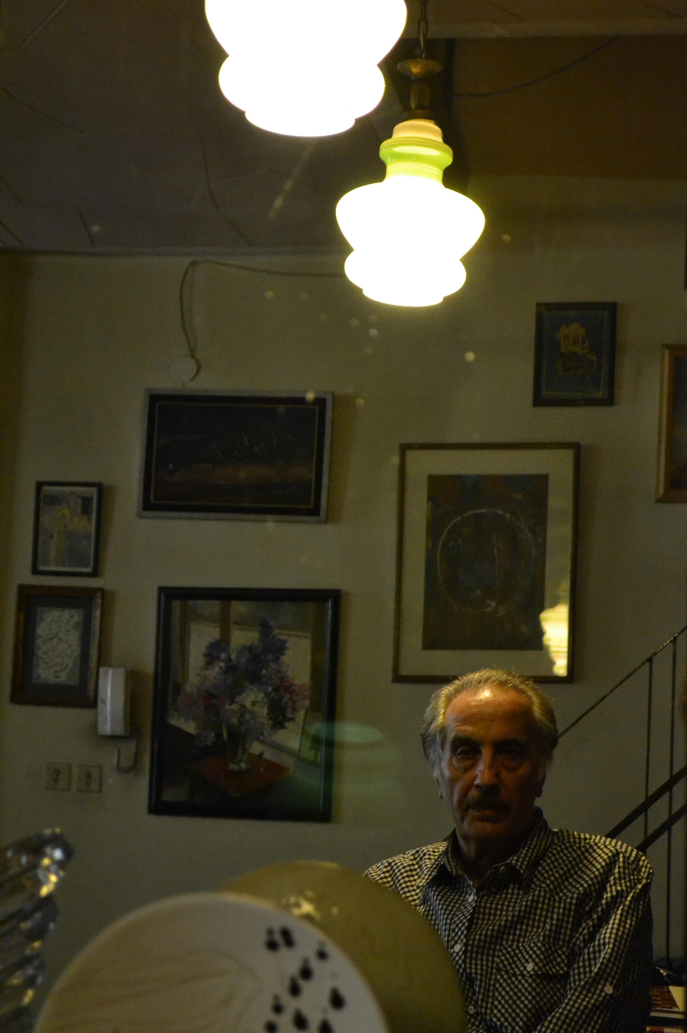 """Mohammad-Ali Sepanlou, """"vis-à-vis"""" Series, 2012, Digital Photography, 24×36 cm"""