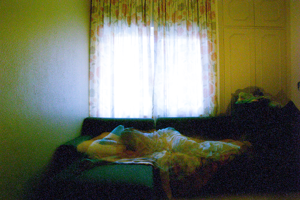 """Arya Tabandehpoor, untitled, from """"Sleeps"""" series, transfer print and Plexiglas sheets, edition of 4, 19.5 x 29.5 cm, 2011 – 2014"""