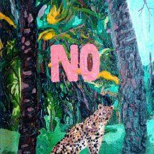 "Mahmoudreza Zandpour, From ""Called Again"" Series, Acrylic on Canvas, 30 x 27 cm, 2016"