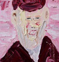 Ed Gein | 16 x 20 cm | Oil on Canvas | 2016