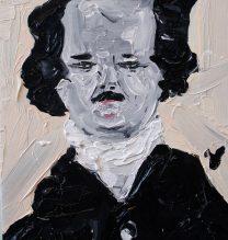 Eggar Allen Poe | 17.5 x 23 cm | Oilon Canvas | 2016