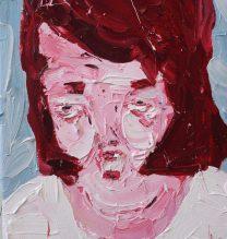 Elvis | 20 x 25.5 cm | Oil on Canvas | 2016