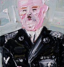 Heinrich Himmler | 20 x 30 cm |Oil on Canvas