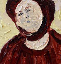 Jesus Christ | 21 x 15 cm | Oil on Canvas | 2016