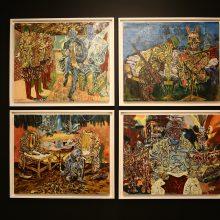 "Mohsen Hesari, ""Episode 05"" a group exhibition, installation view, 2020"
