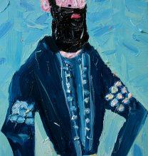 Nader Shah Afshar| 30x40cm |Oil on Canvas | 2016