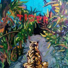 "Mahmoudreza Zandpour, From ""Called Again"" Series, Acrylic on Canvas, 30 x 24 cm, 2016"