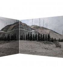 """Mehdi Abdolkarimi, from """"Among Highways"""" series, pigmented inkjet print on Hahnemühle photo rag paper 305 gsm, two sided, 110 x 123 cm and 110 x 202 cm, edition of 3 + AP, 2015"""