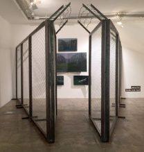 "Sheida Arab Yazdi , ""Isolation"" series (installation view), 2017"