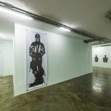"Sara Abbasian, ""Epidemy"" series, installation view, 2017"
