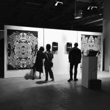 """Mohsen Gallery at """"Ars Electronica 2018"""", installation view, 2018"""