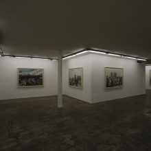 """Exposed"" series"", installation view"