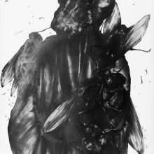 "Sara Abbasian, Untitled, from ""Epidemy"" series, pencil on cardboard, 75 x 107 cm, 2017"