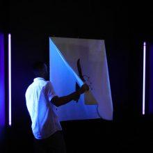 "Semco Salehi, ""Teazy"", a photo and video installation at Pasio, 2019"