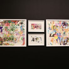 "Tarlan Tabar, ""Episode 05"" a group exhibition, installation view, 2020"