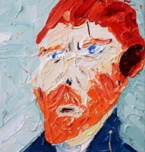 Vicent Van Gogh | 23 x 17 cm | Oil on Canvas | 2016